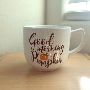 """""""Good Morning Pumpkin"""" Large Mug"""